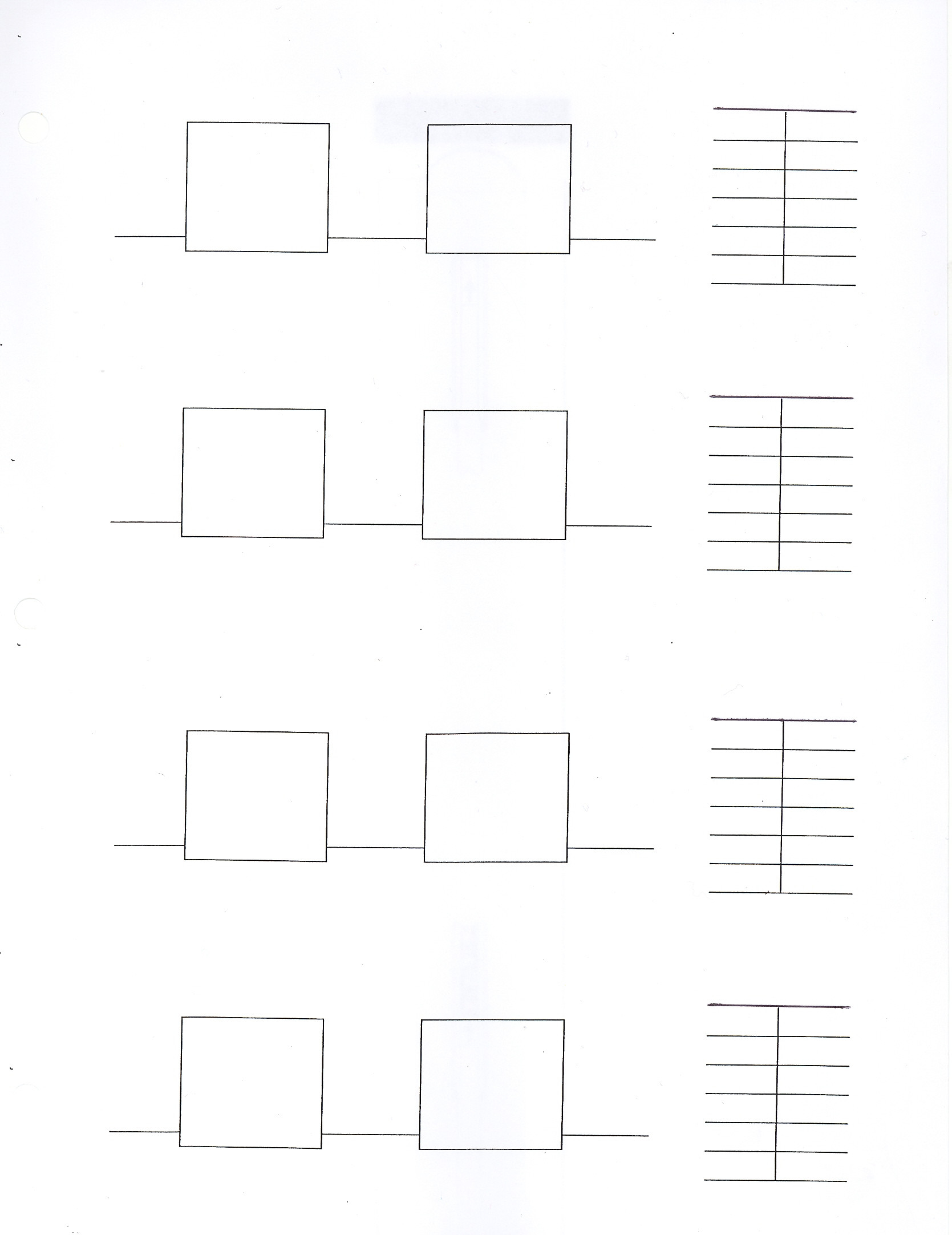 Function Tables Input Output Worksheet