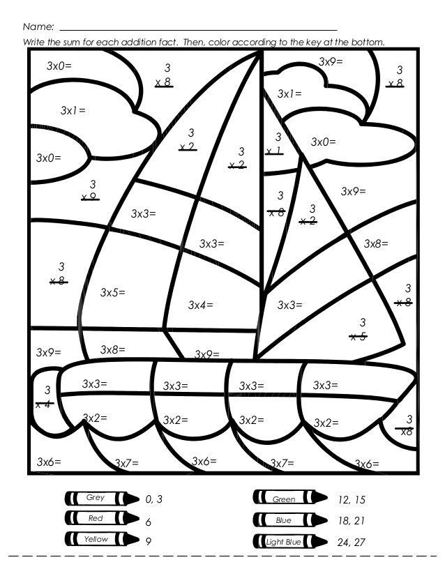 Mystery Picture Multiplication Worksheets Multiplication