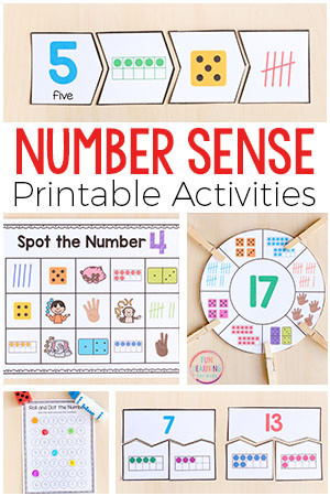 Number Sense and Operations Worksheets