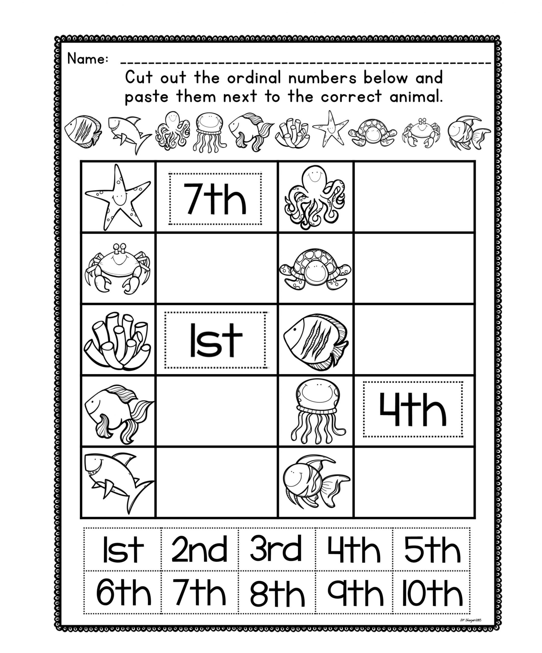 This is a set of posters 1st – 10th used to help students