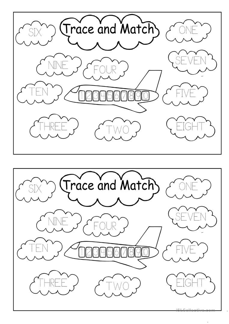 Trace Numbers 1 30 Worksheet