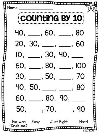 First Grade Math Unit 11 paring Numbers Skip Counting and