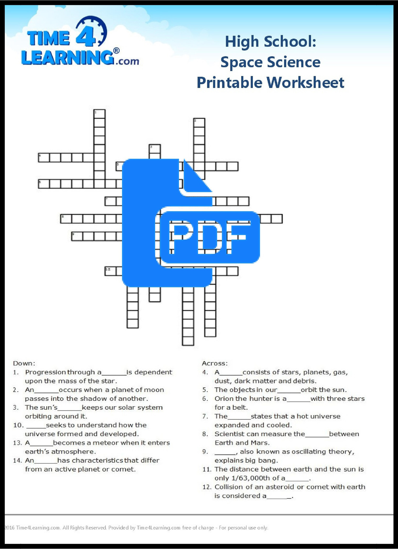 Electricity Worksheets for Middle School