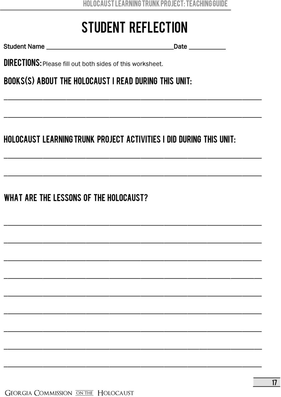 Holocaust Reading Comprehension Worksheet Template Library [ 1359 x 960 Pixel ]