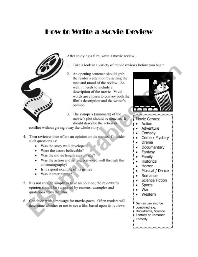 Instructions Not Included Movie Worksheet
