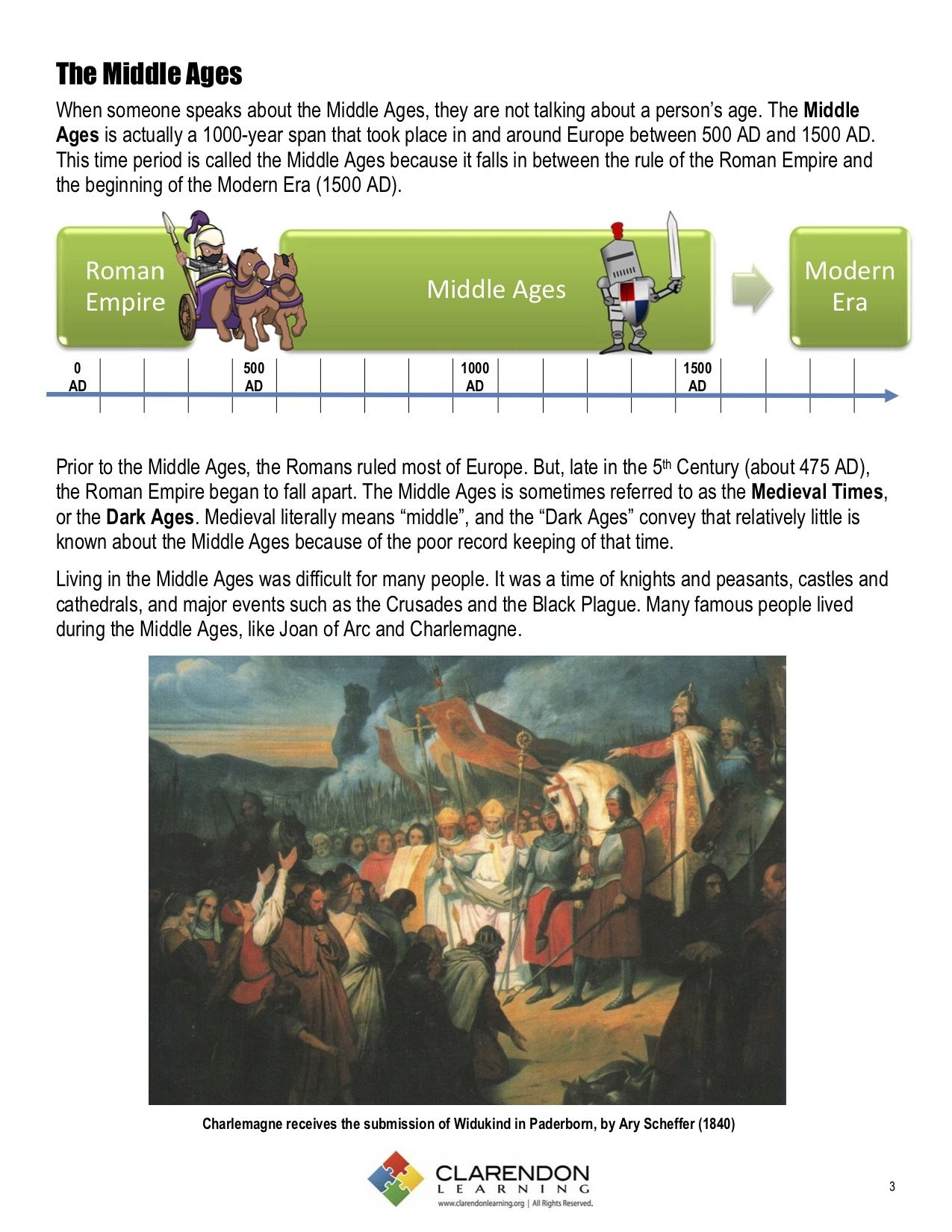 Middle Ages Worksheets 6th Grade