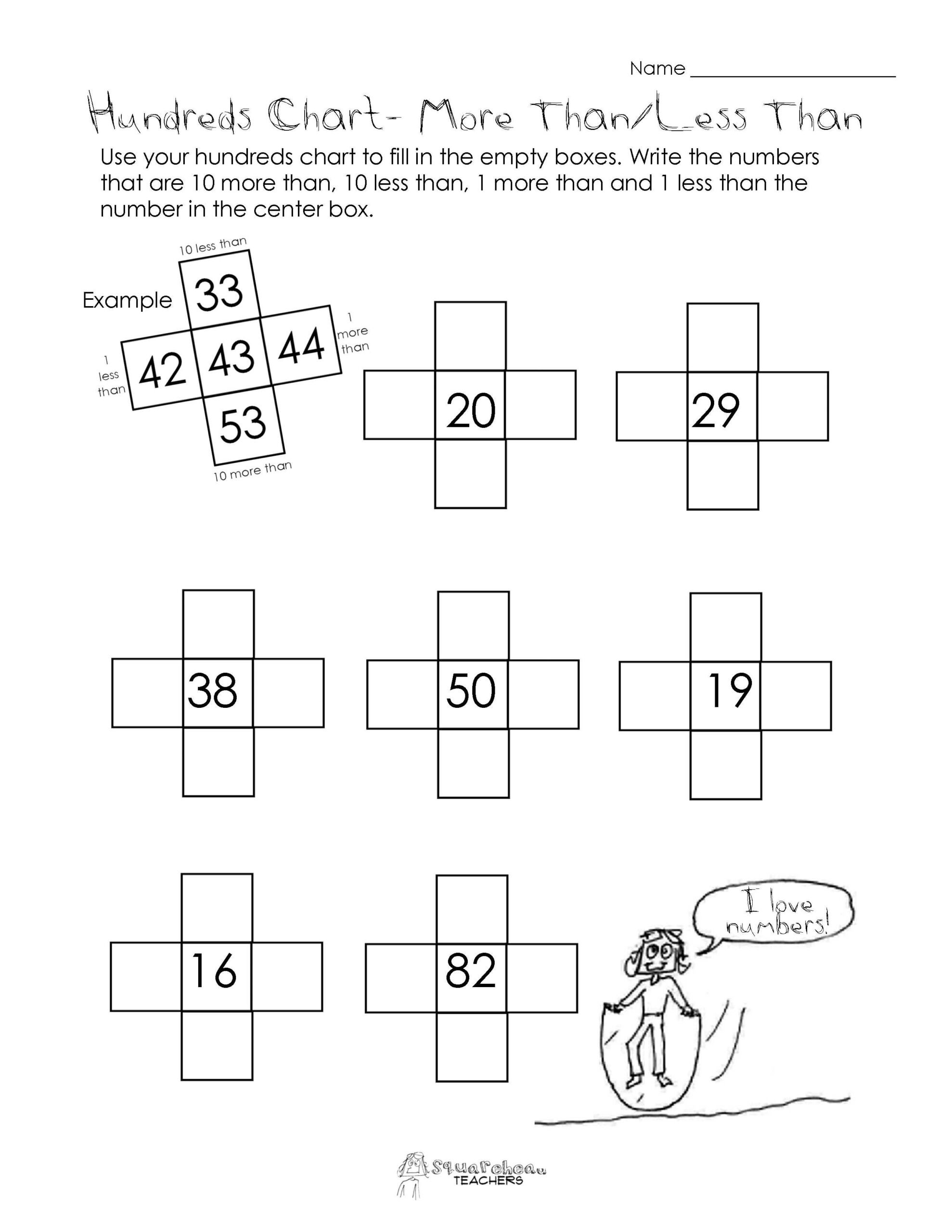 More Than A Worksheet