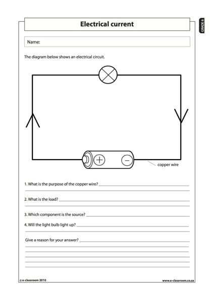 Technology Worksheets for Middle School