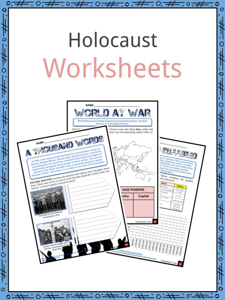 Holocaust Facts Information & Worksheets